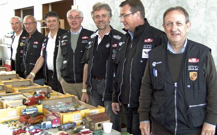 Le vice Président et quelques membres du bureau